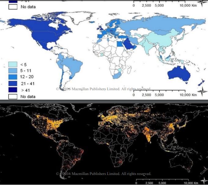 mapa obesidad mundial