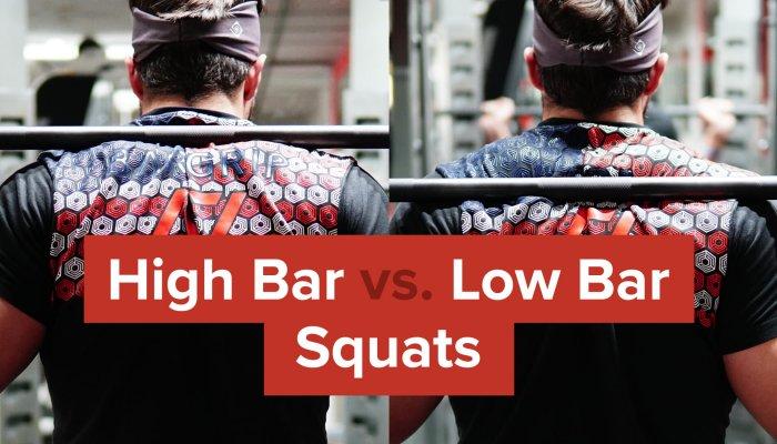 high bar vs low bar